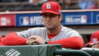 SAN FRANCISCO, CA - OCTOBER 14: Manager Mike Matheny #22 of the St. Louis Cardinals looks on while taking on the San Francisco Giants in Game Three of the National League Championship Series at AT&T Park on October 14, 2014 in San Francisco, California. (Photo by Thearon W. Henderson/Getty Images)